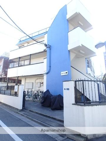 東京都北区、赤羽駅徒歩10分の築19年 3階建の賃貸マンション