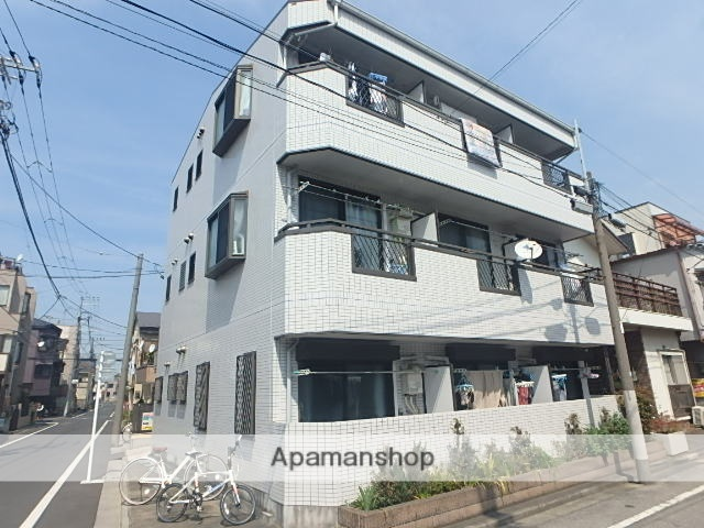 東京都北区、赤羽駅徒歩15分の築12年 3階建の賃貸マンション