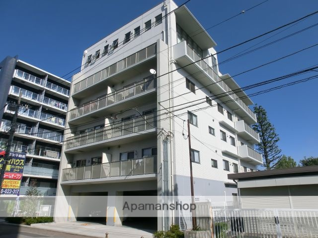 東京都北区、赤羽駅徒歩12分の築4年 6階建の賃貸マンション