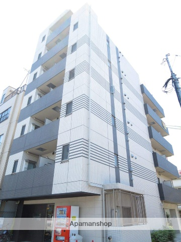 東京都北区、赤羽駅徒歩12分の築4年 8階建の賃貸マンション