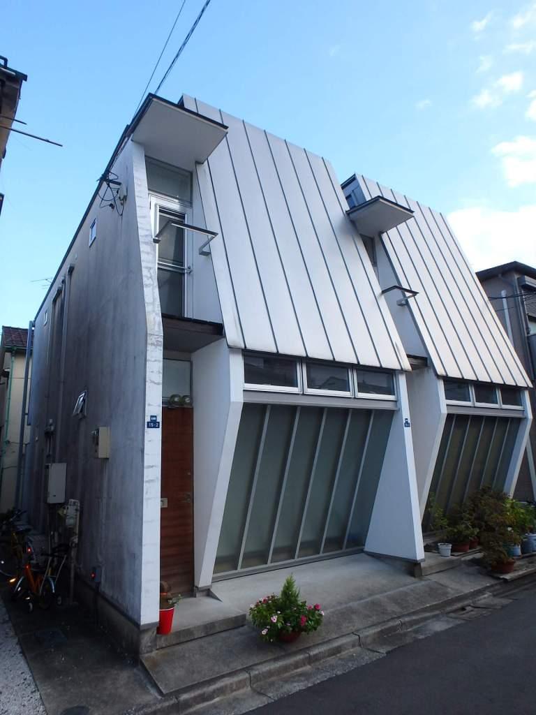 東京都北区、赤羽駅徒歩9分の築13年 2階建の賃貸アパート