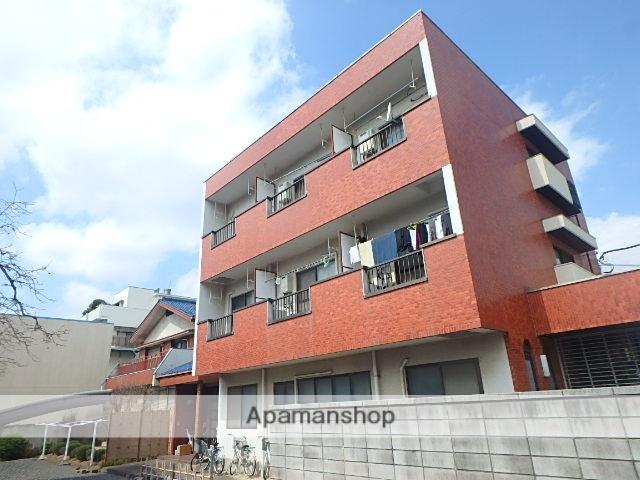 東京都板橋区、北赤羽駅徒歩22分の築27年 3階建の賃貸マンション