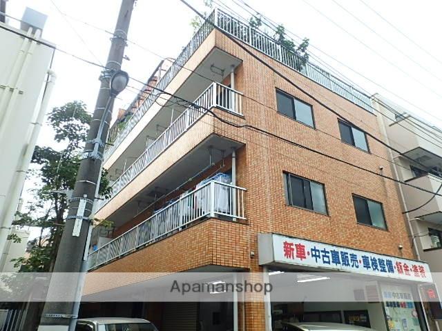 東京都北区、北赤羽駅徒歩5分の築27年 4階建の賃貸マンション