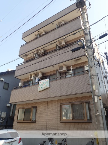 東京都北区、十条駅徒歩25分の築24年 4階建の賃貸マンション