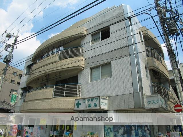 東京都北区、北赤羽駅徒歩1分の築23年 5階建の賃貸マンション