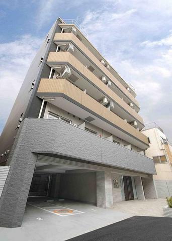 東京都板橋区、大山駅徒歩2分の築9年 6階建の賃貸マンション