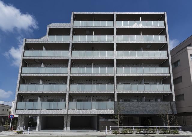 東京都板橋区、中板橋駅徒歩14分の築1年 7階建の賃貸マンション
