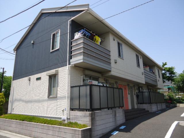 東京都北区、北赤羽駅徒歩18分の築9年 2階建の賃貸アパート