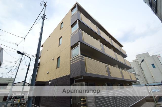 東京都北区、十条駅徒歩10分の新築 4階建の賃貸マンション