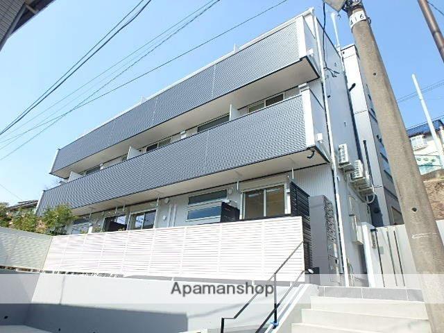 東京都北区、十条駅徒歩15分の新築 3階建の賃貸アパート