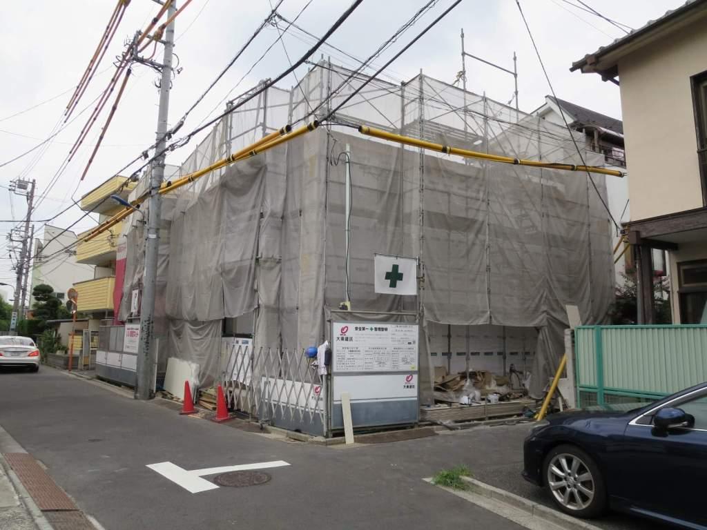 東京都北区、赤羽駅徒歩17分の新築 2階建の賃貸アパート