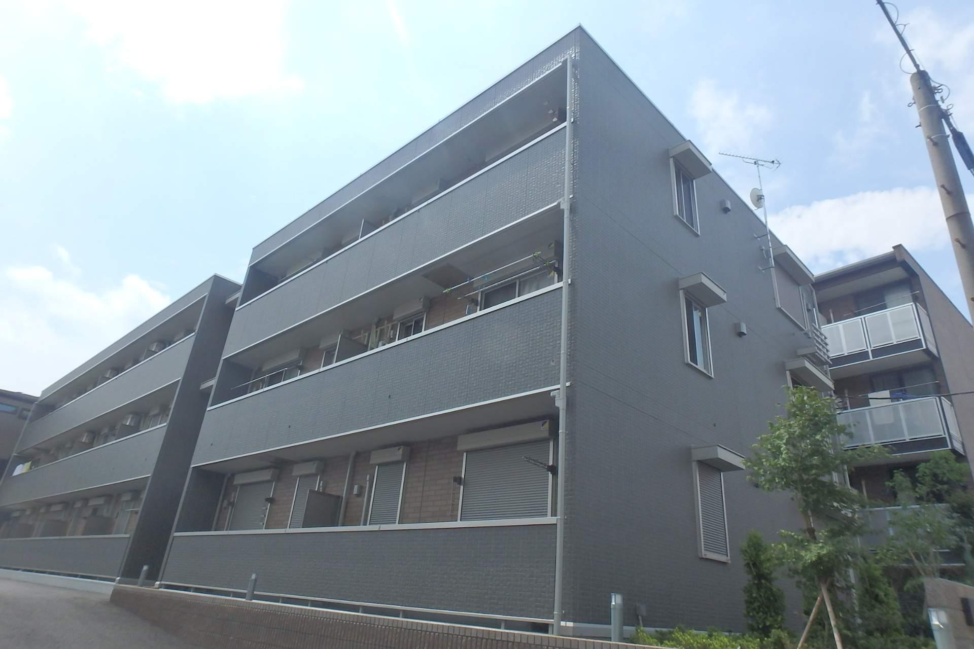 埼玉県川口市、西川口駅徒歩25分の新築 3階建の賃貸アパート