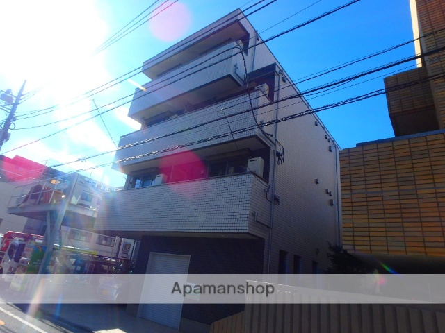 東京都板橋区、浮間舟渡駅徒歩9分の新築 4階建の賃貸マンション