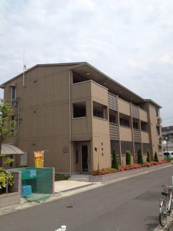 埼玉県戸田市、戸田駅徒歩15分の築7年 3階建の賃貸アパート