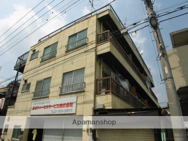 東京都北区、北赤羽駅徒歩8分の築41年 3階建の賃貸マンション