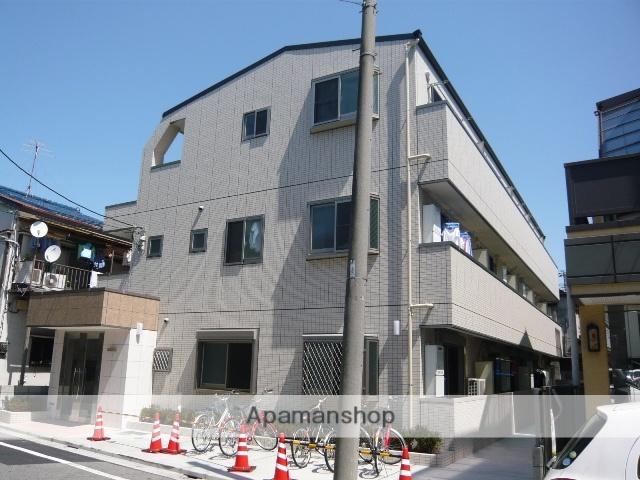 東京都北区、赤羽駅徒歩15分の築5年 3階建の賃貸マンション