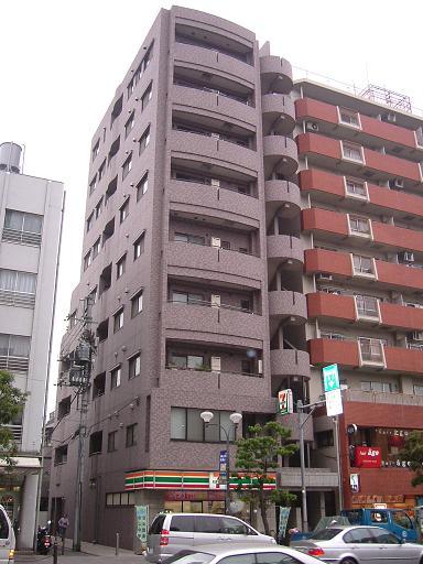 東京都北区、王子駅徒歩4分の築16年 9階建の賃貸マンション