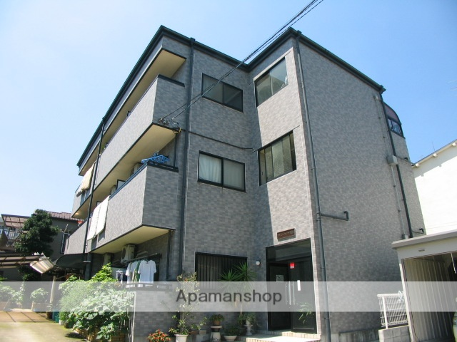 東京都北区、赤羽駅徒歩13分の築19年 3階建の賃貸マンション