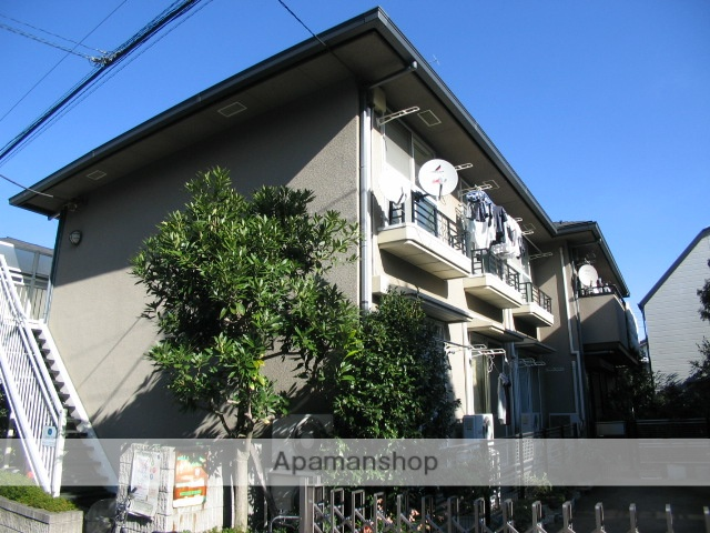 東京都北区、十条駅徒歩18分の築23年 2階建の賃貸アパート
