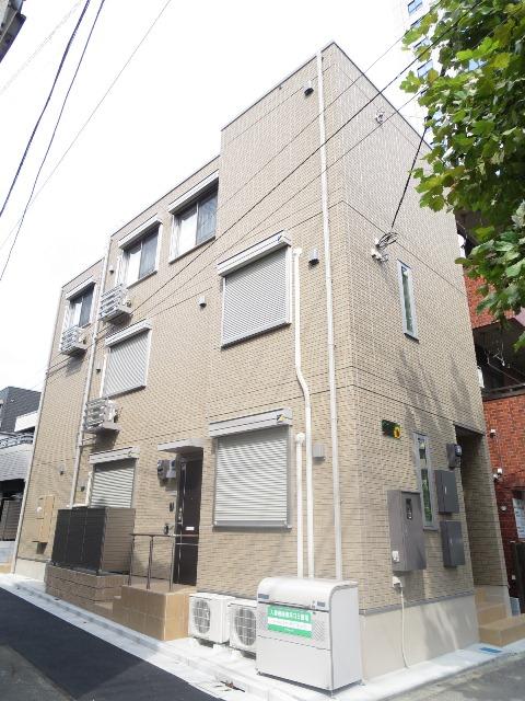東京都北区、赤羽駅徒歩9分の築2年 3階建の賃貸アパート