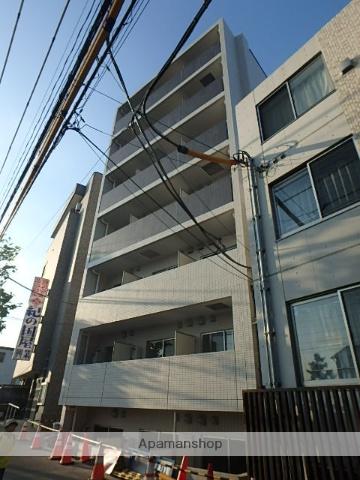 東京都北区、赤羽駅徒歩16分の築2年 7階建の賃貸マンション