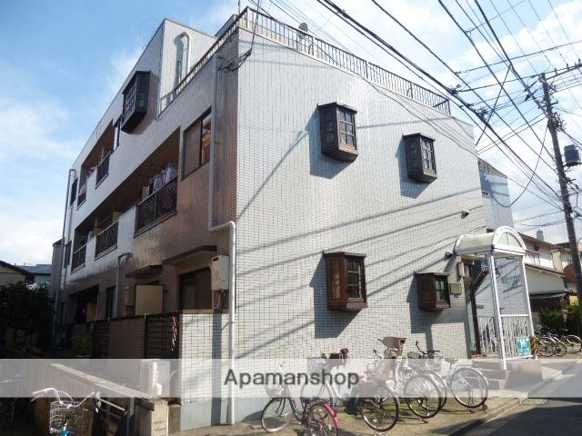東京都北区、赤羽駅徒歩17分の築21年 3階建の賃貸マンション