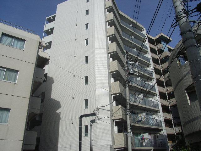 東京都北区、赤羽駅徒歩26分の築9年 9階建の賃貸マンション