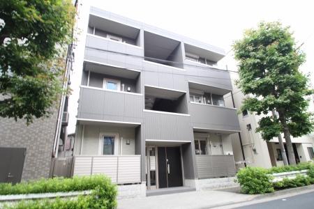 東京都北区、東十条駅徒歩12分の築3年 3階建の賃貸マンション