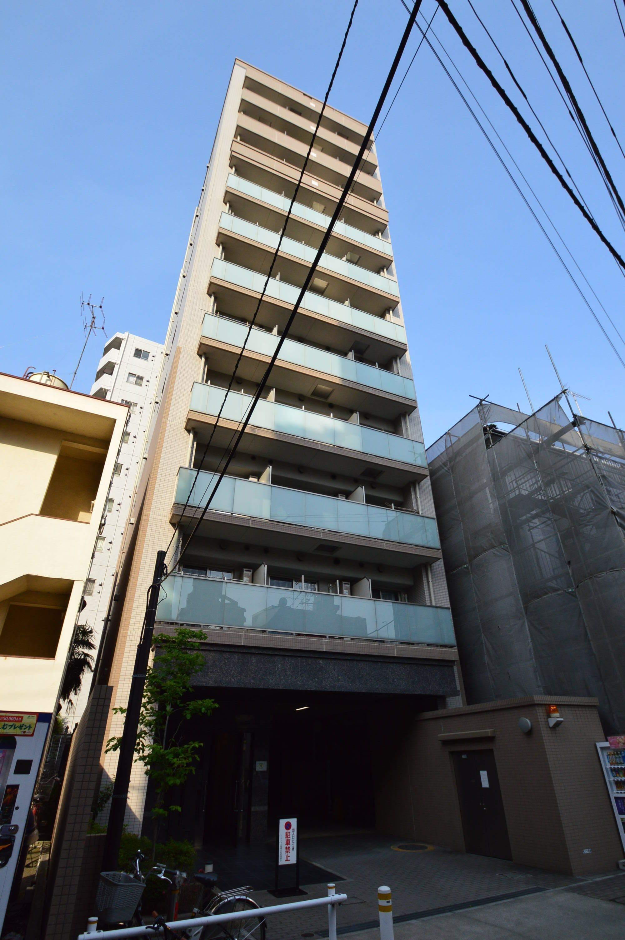 東京都板橋区、中板橋駅徒歩16分の築10年 12階建の賃貸マンション