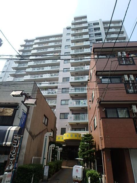 東京都板橋区、中板橋駅徒歩16分の築18年 14階建の賃貸マンション