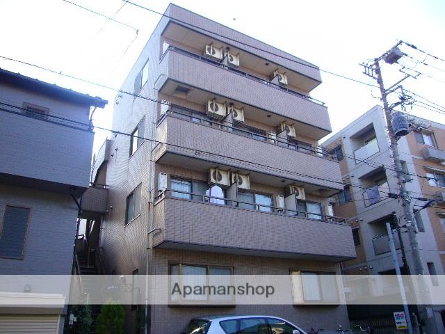 東京都北区、十条駅徒歩25分の築23年 4階建の賃貸マンション