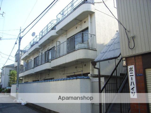 東京都北区、十条駅徒歩7分の築28年 3階建の賃貸マンション