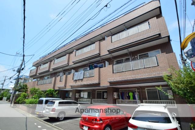 東京都北区、十条駅徒歩7分の築27年 3階建の賃貸マンション