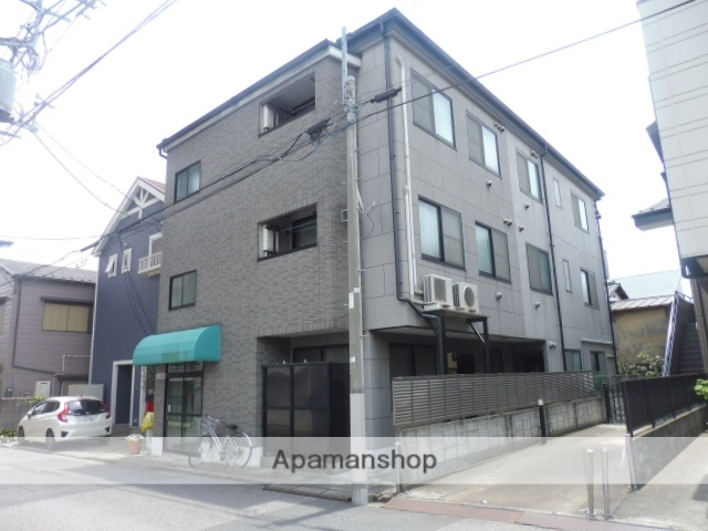 東京都北区、十条駅徒歩8分の築17年 3階建の賃貸マンション
