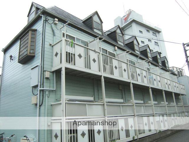 東京都板橋区、中板橋駅徒歩16分の築25年 2階建の賃貸アパート