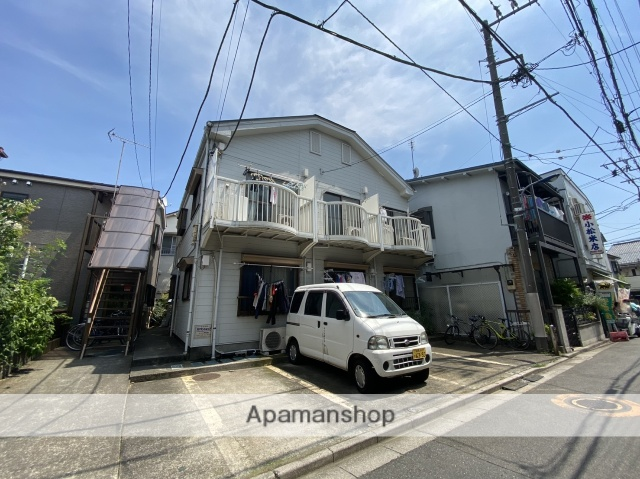 東京都北区、十条駅徒歩2分の築28年 2階建の賃貸アパート
