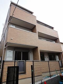 東京都板橋区、下板橋駅徒歩14分の築1年 3階建の賃貸アパート