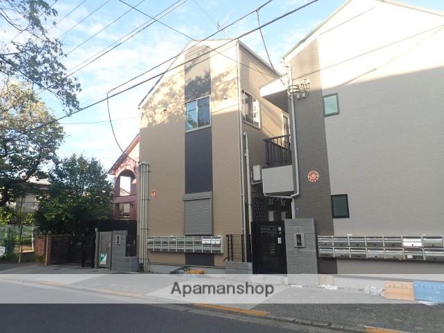 東京都北区、北赤羽駅徒歩13分の新築 2階建の賃貸アパート