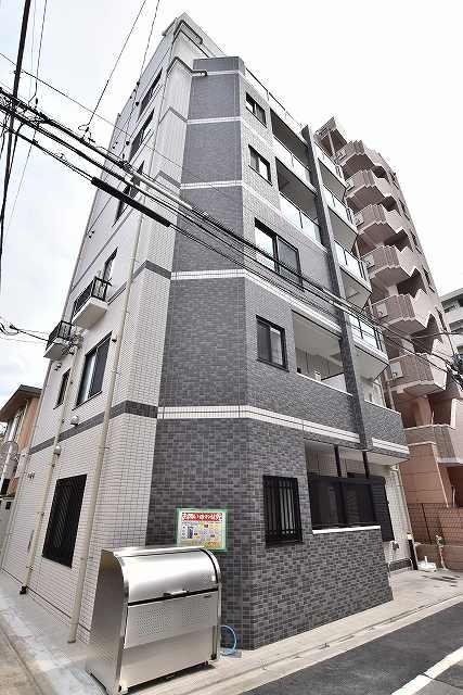 東京都北区、板橋駅徒歩5分の築1年 7階建の賃貸マンション