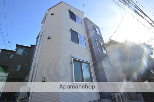 東京都板橋区、板橋区役所前駅徒歩16分の新築 3階建の賃貸アパート