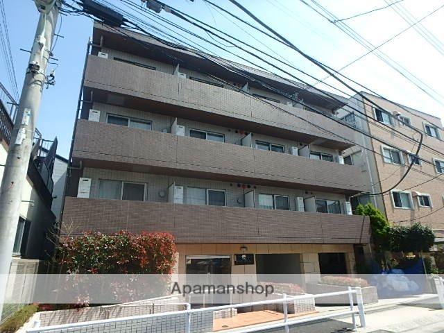 東京都板橋区、中板橋駅徒歩10分の築2年 4階建の賃貸マンション