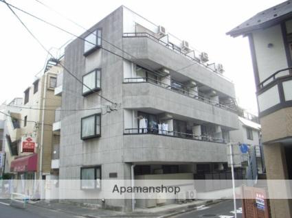 東京都板橋区、下板橋駅徒歩13分の築23年 4階建の賃貸マンション