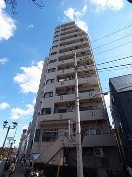 東京都北区、王子駅徒歩7分の築23年 13階建の賃貸マンション