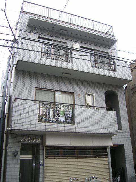 東京都北区、板橋駅徒歩11分の築27年 4階建の賃貸マンション