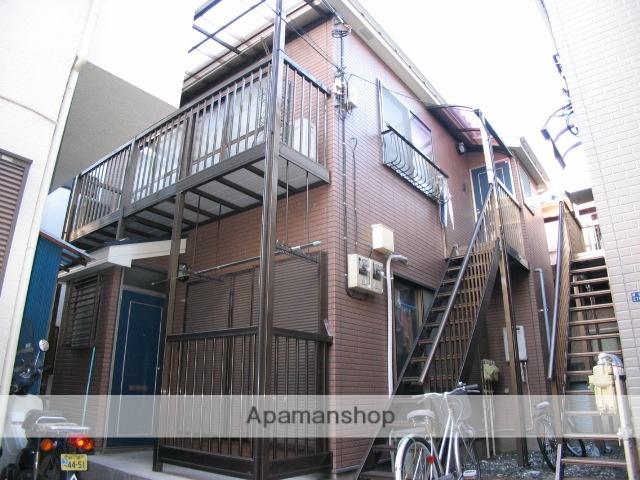 東京都北区、赤羽駅徒歩15分の築15年 2階建の賃貸アパート