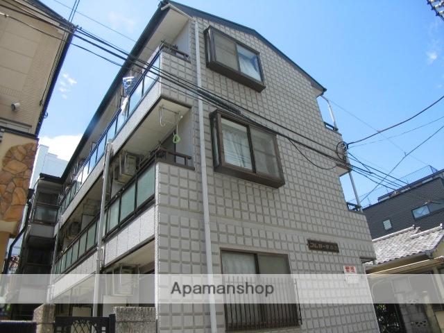 東京都北区、赤羽駅徒歩8分の築17年 3階建の賃貸マンション
