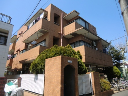 東京都板橋区、大山駅徒歩12分の築27年 3階建の賃貸マンション
