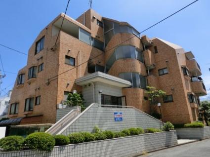 東京都板橋区、上板橋駅徒歩6分の築28年 4階建の賃貸マンション