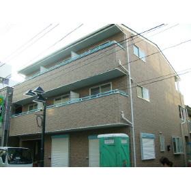 東京都板橋区、大山駅徒歩16分の築9年 3階建の賃貸アパート