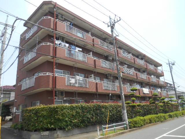 東京都板橋区、下赤塚駅徒歩14分の築25年 4階建の賃貸マンション